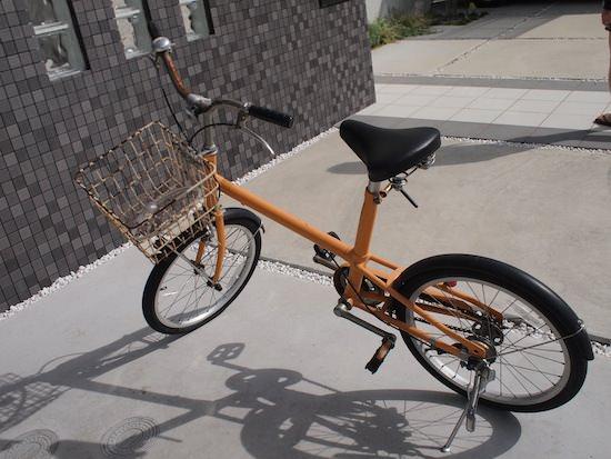 無印良品 MUJIの自転車