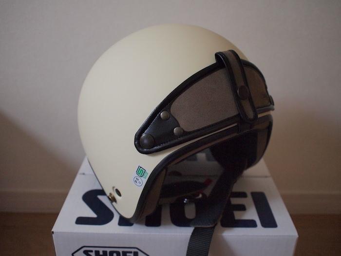 ジェットヘルメット「SHOEI MASH-X」