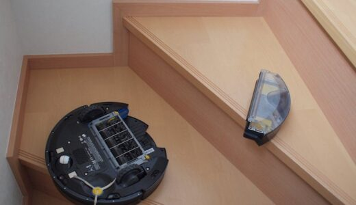 ルンバが階段から落ちた・・・