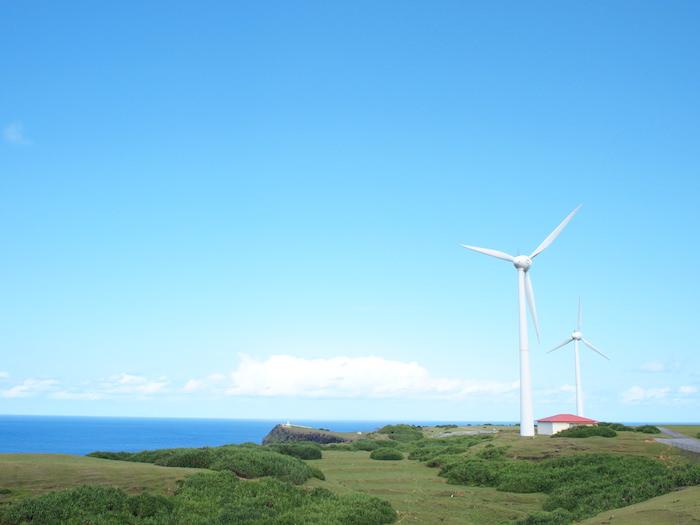 与那国島 風力発電