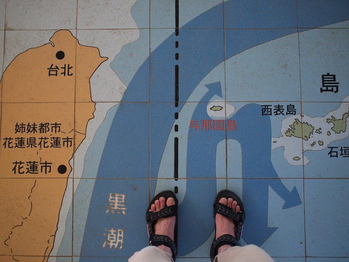 与那国島の位置
