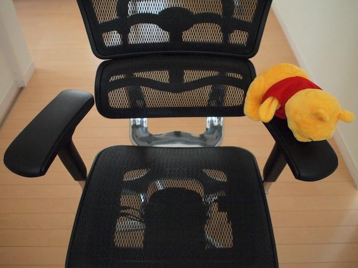 エルゴヒューマンの椅子