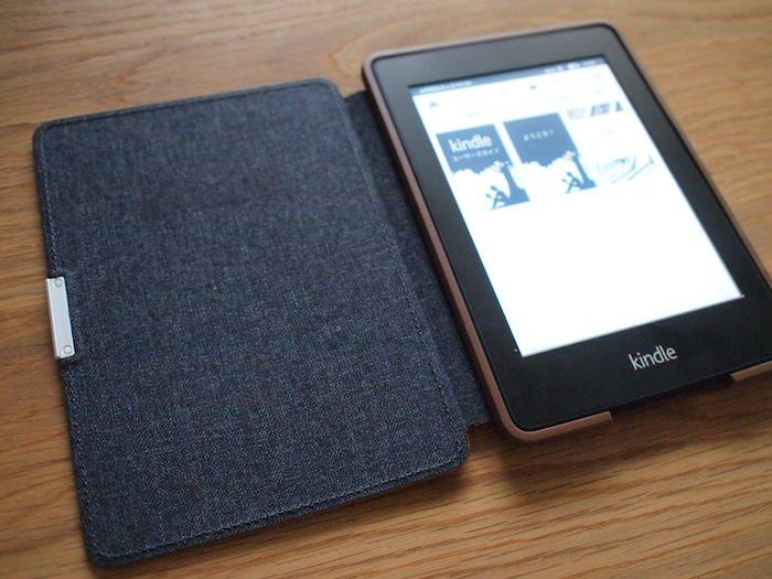 Kindle Paperwhite 純正レザーカバー裏面素材