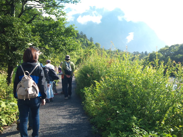 上高地の自然散策路