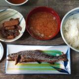 嘉門次小屋 岩魚の塩焼き定食