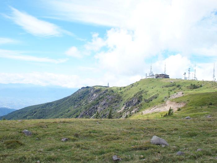 美ヶ原高原の電波塔