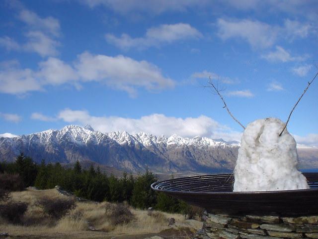クイーンズタウン・ヒルからの眺望 - NZトレッキング