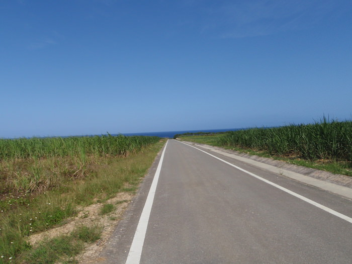 波照間島の道路
