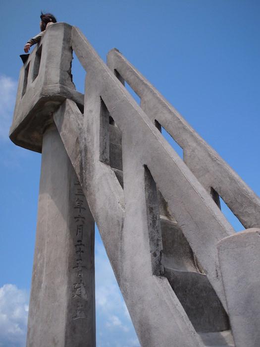 竹富島の展望台