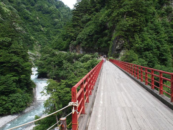 欅平の奥鐘橋