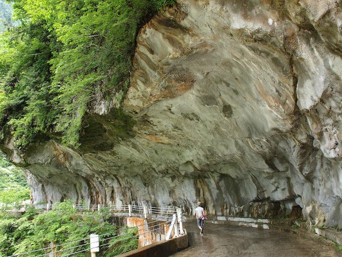 欅平の人喰岩