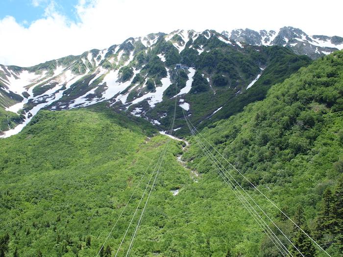 立山ロープウェイで大観峰へ