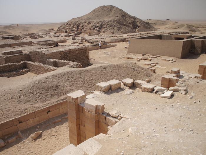 ウナス王のピラミッド