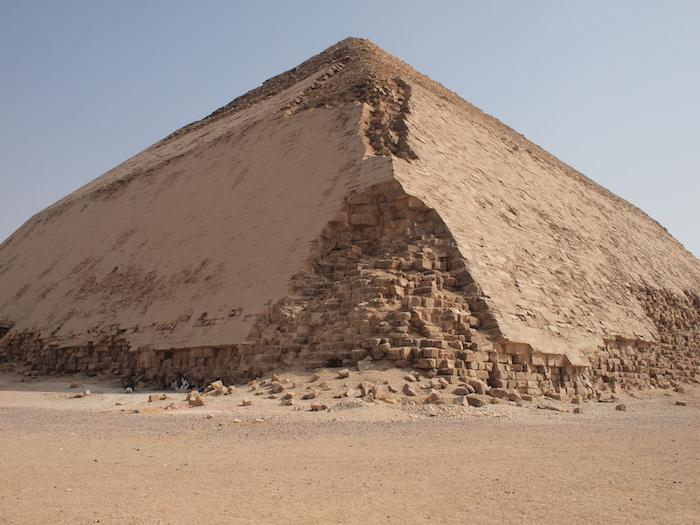 屈折ピラミッド