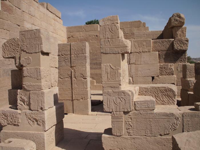 イシス神殿のフィラエ島