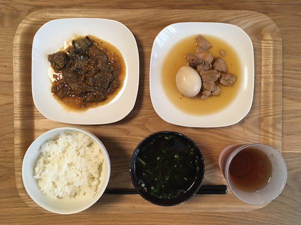 お惣菜の定期宅配「おかん」の食事