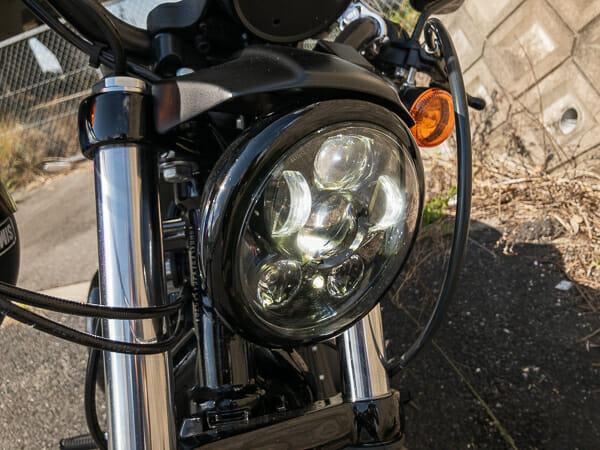 XL883N LEDヘッドライト