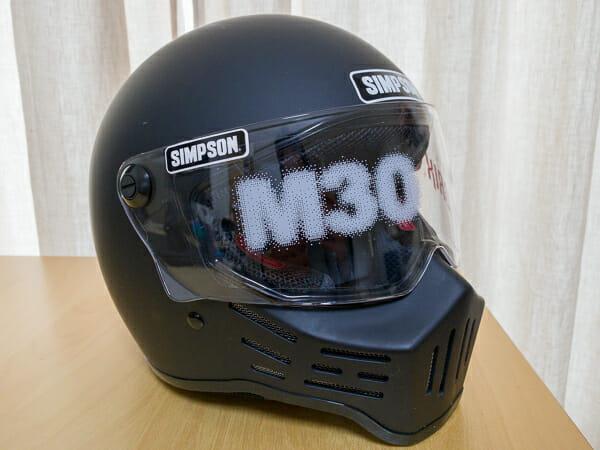 シンプソン M30 ヘルメット