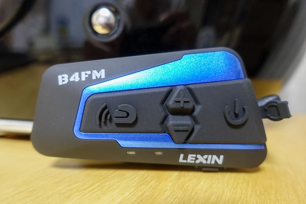 バイクインカム「LX-B4FM」