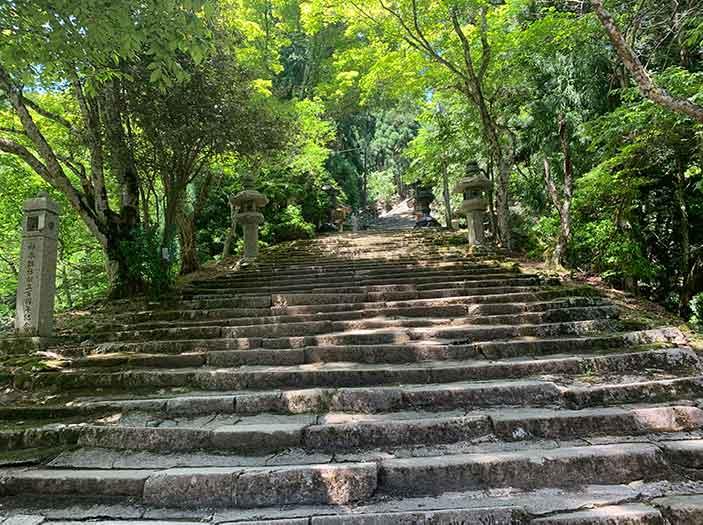 京都 清滝〜愛宕山〜月輪寺の周遊トレッキング