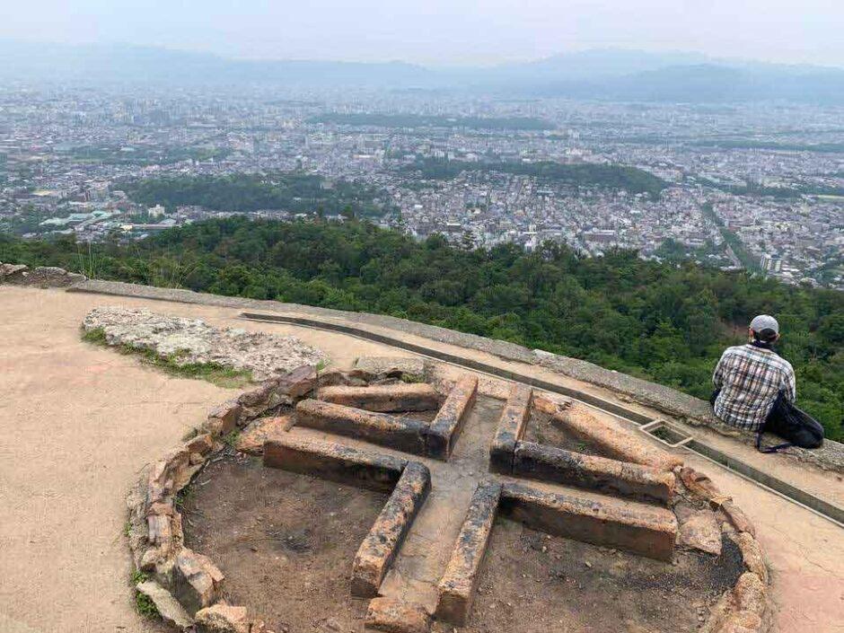 京都一周トレイルを歩いて蹴上から大文字山への周遊トレッキング