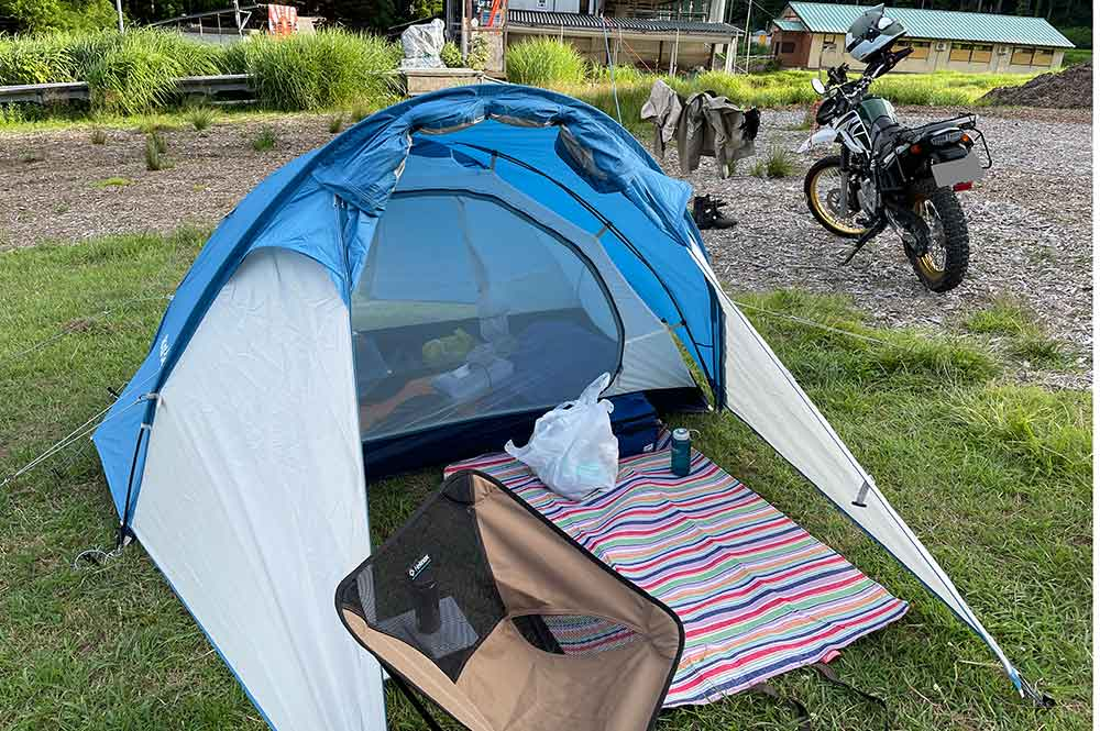 モンベルのテント「クロノスキャビン2型」